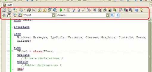 CnPack Editor Toolbar